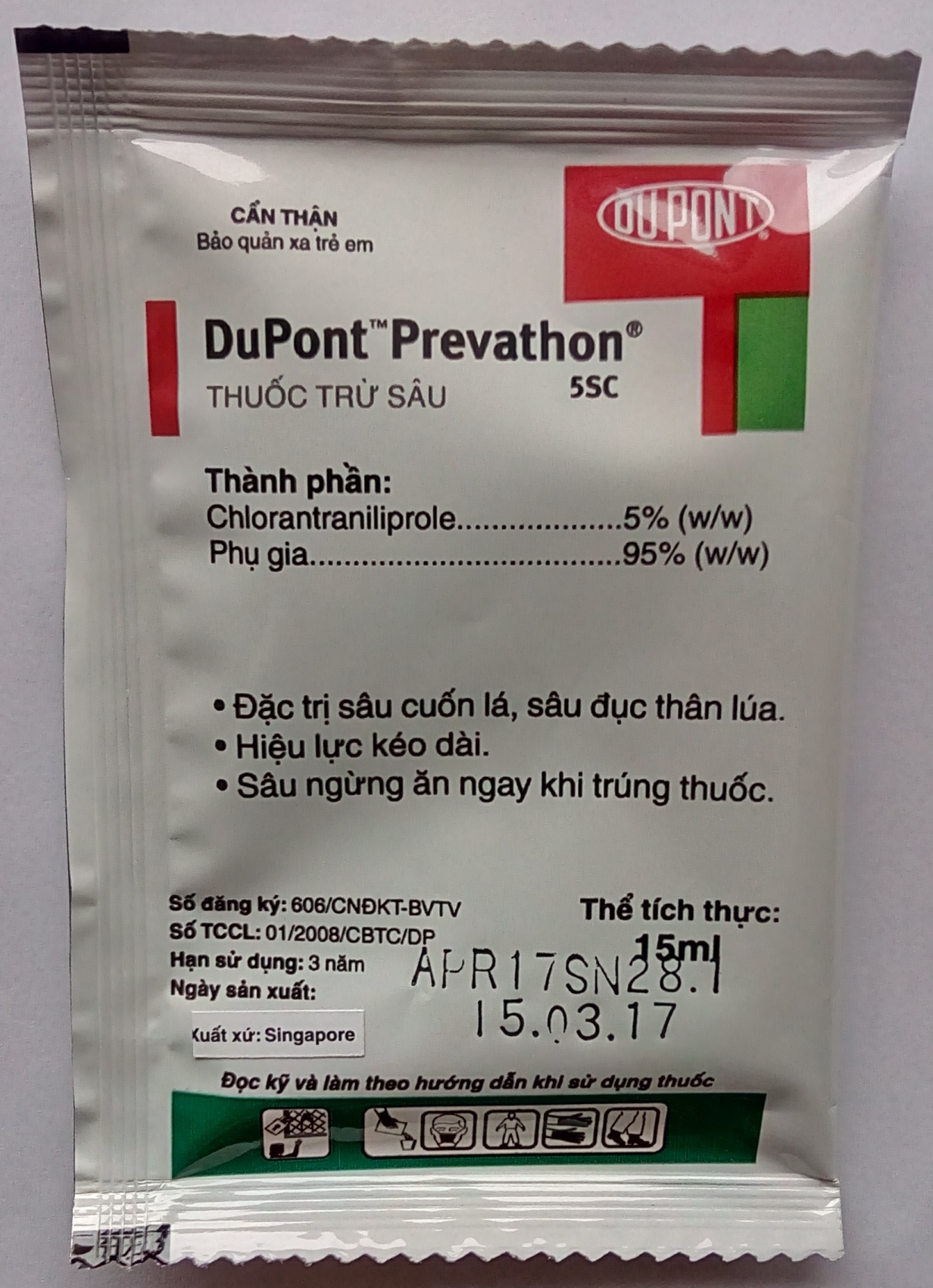 Thuốc trừ sâu sinh học Dupont Prevathon
