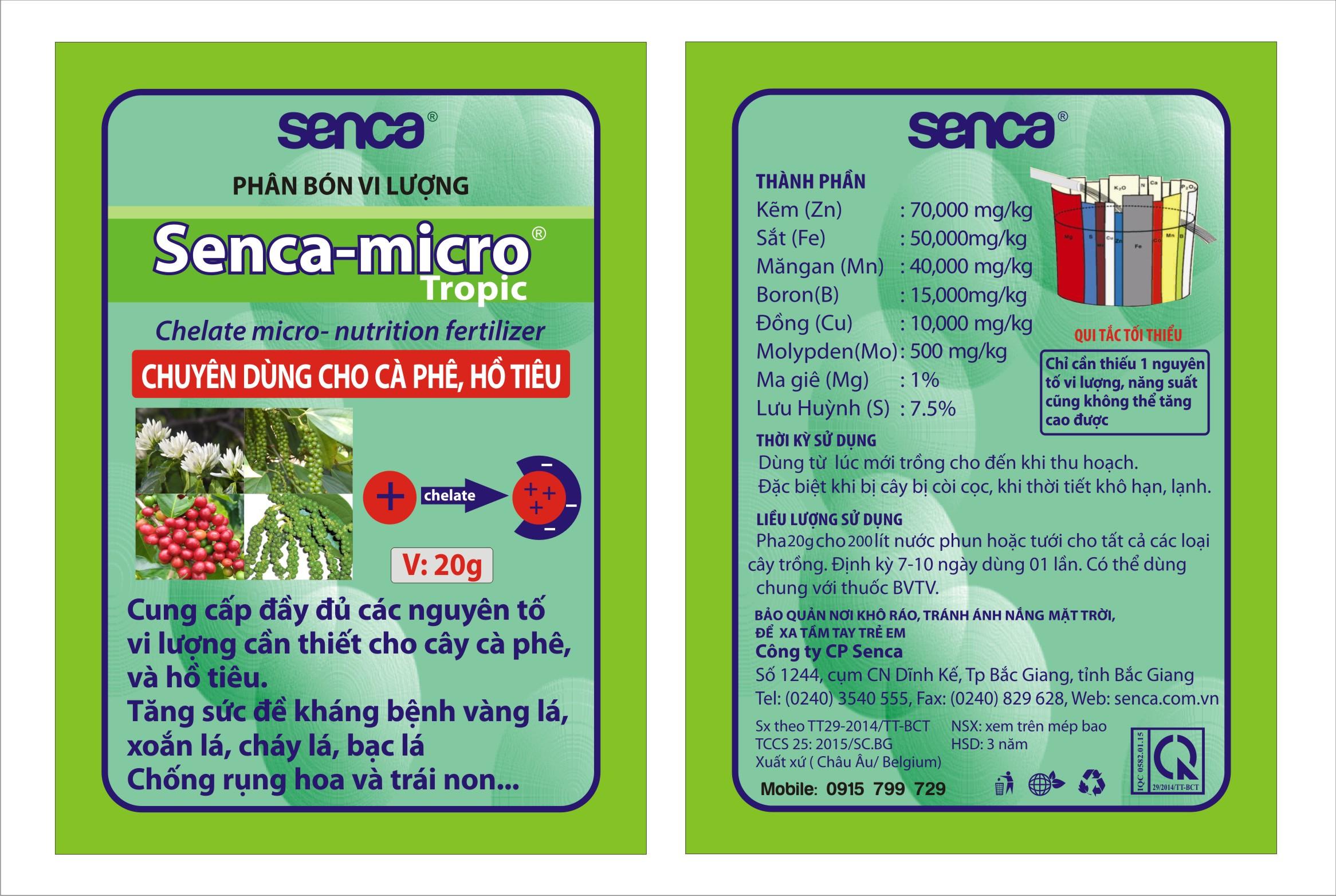 Senca Micro Tropic